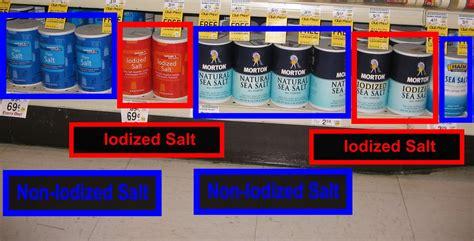 is table salt iodized iodized salt electric iodine