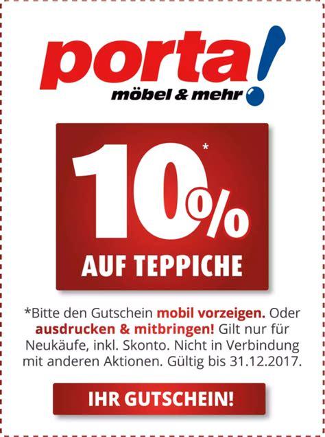 Porta Teppiche by Porta Gutschein 10 Auf Teppiche