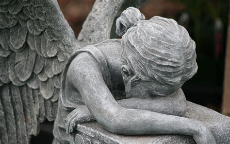 crying angel wallpaper wallpapersafari