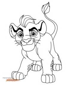 lion guard coloring pages disney coloring book