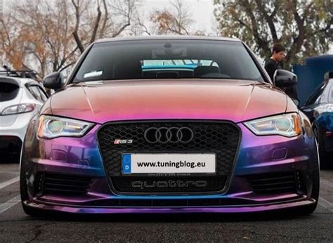 Auto Lackieren Cham by Audi A3 Rs3 Widebody Cham 228 Folierung Tuning