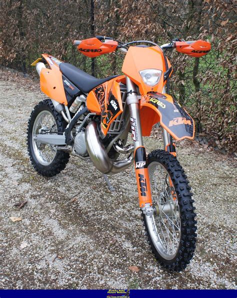 Ktm 250 Horsepower 2005 Ktm 250 Exc Pics Specs And Information