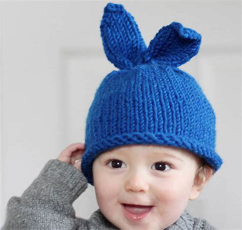baby bunny hat knitting pattern baby bunny rabbit hat knitting pattern michele