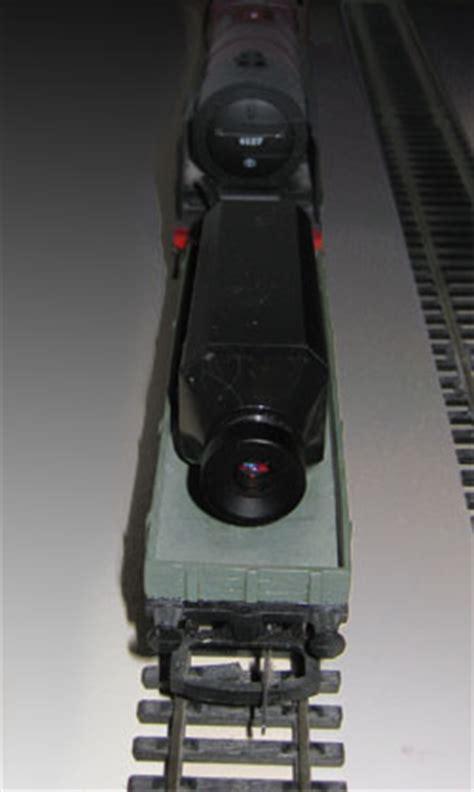 wireless live camera systems on model trains & railroads