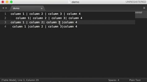 tutorial latex sublime sublime text 3 alignment mac