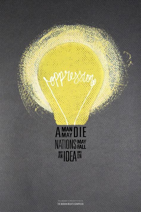 design idea quotes oppression poster lightbulb print pinterest