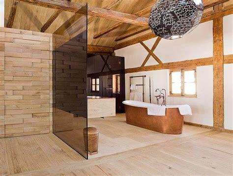 badezimmer chalet salle de bain chalet de montagne d 233 co luxueuse et raffin 233 e
