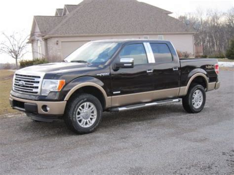 2013 Ford F150 4 Door Price by Sell Used 2013 Ford F 150 Lariat Crew Cab Truck Ecoboost