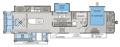 Forest River Fifth Wheel Floor Plans by 2016 Forest River Sandpiper 5th Floor Plans Trend Home
