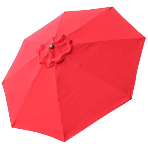Patio Umbrella Replacement Covers 8ft 8 Rib Patio Umbrella Cover Canopy Replacement Top Outdoor Yard Garden Desk Ebay