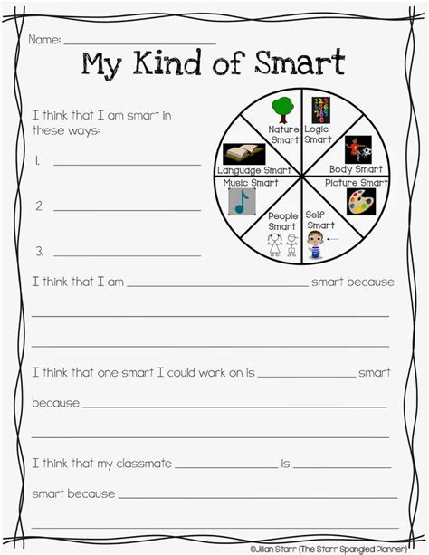 printable gardner s multiple intelligences quiz multiple intelligence test for elementary students