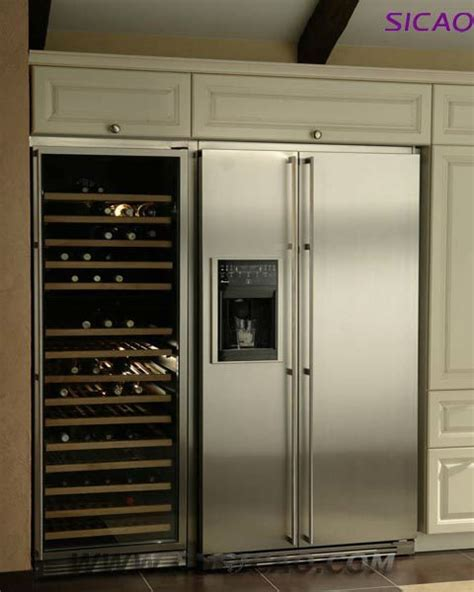 Modern Furniture! 168 Bottles Dual zone Wine Cooler