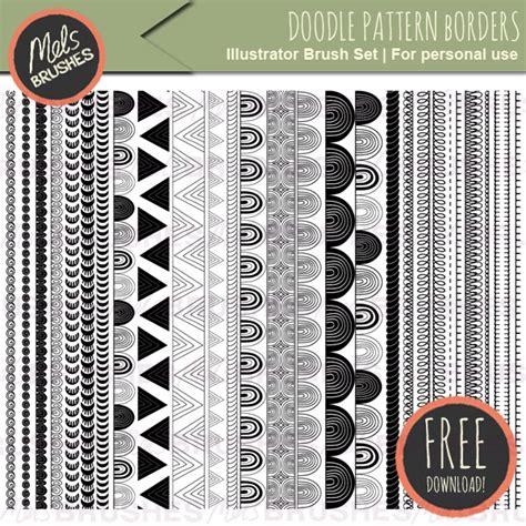doodle patterns for photoshop 1 100 free adobe illustrator brushes inspirationfeed