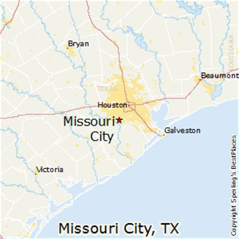 where is missouri city texas on map best places to live in missouri city texas