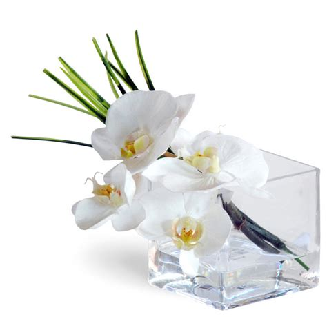 white phalaenopsis silk orchid floral design o131 phalaenopsis orchid white flower arrangement traditional