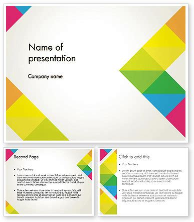 geometric design of hill roads ppt powerpoint template geometric shapes gallery powerpoint
