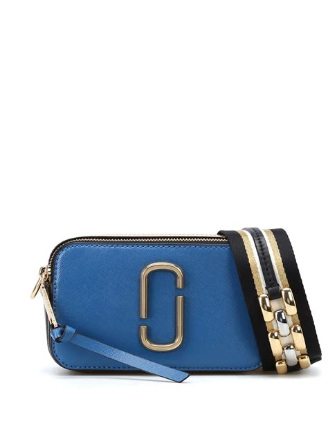 Marc Jacob Snapshot 5031 Embos snapshot vintage blue small bag by marc cross bags ikrix