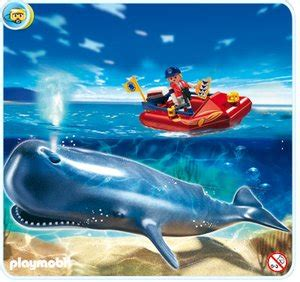 intertoys rubberboot playmobil 4489 potvis met rubberboot