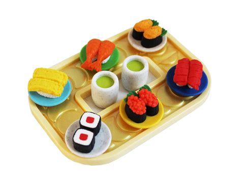 Eraser Set sushi eraser set