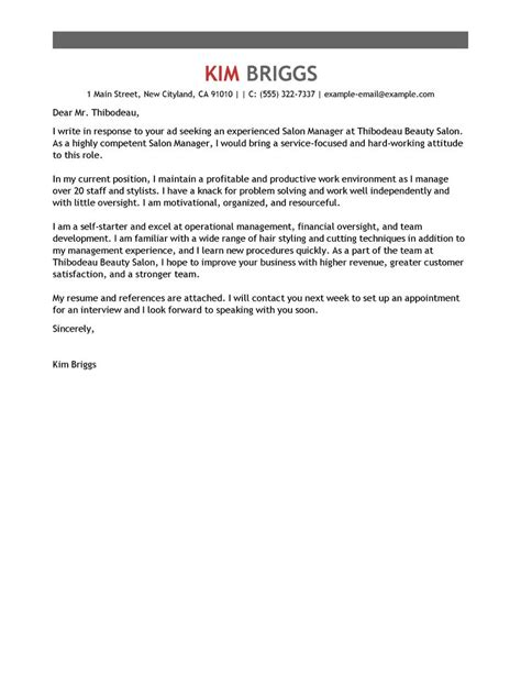 health and fitness cover letter best salon spa fitness cover letter exles livecareer