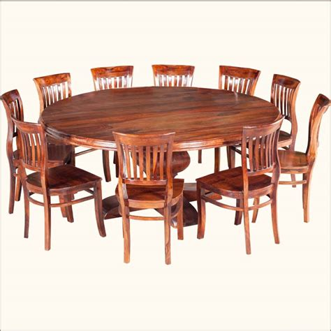 8 person round dining table exceptional solid wood dining sets 8 10 person round