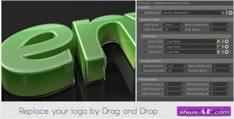 Glass Wrapped Logo Cinema 4d Templates Videohive 187 Free After Effects Templates After Cinema 4d Templates