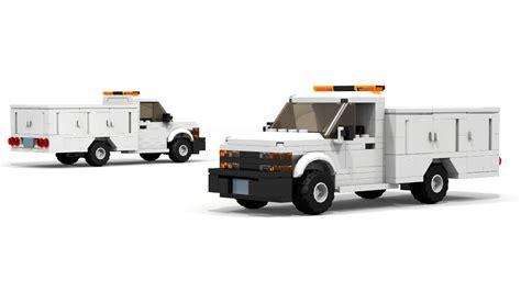 lego chevrolet silverado utility box truck instructions