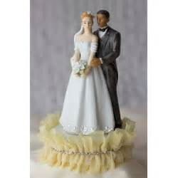 biracial wedding cake toppers tulle and rhinestones wedding cake topper wedding cake toppers wedding