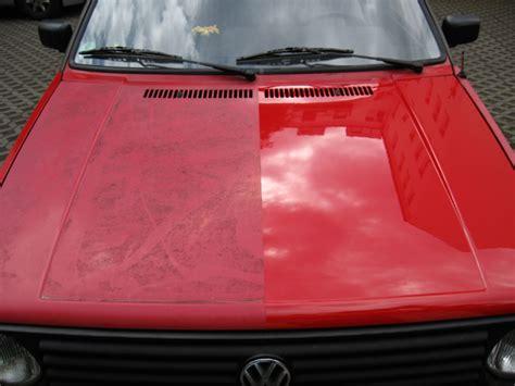 Verwitterten Autolack Polieren by Fahrzeugaufbereitung Ausseneinigung Fahrzeugreinigung