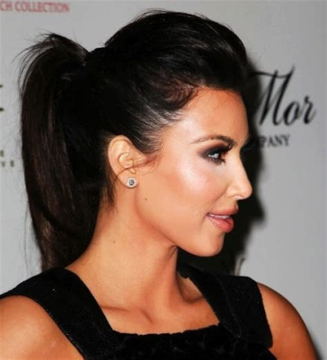 long hairstyles with volume poof on top kim kardashian poof ponytail sassy dove