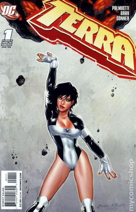 Atlee Terra The Search terra 2008 dc comic books