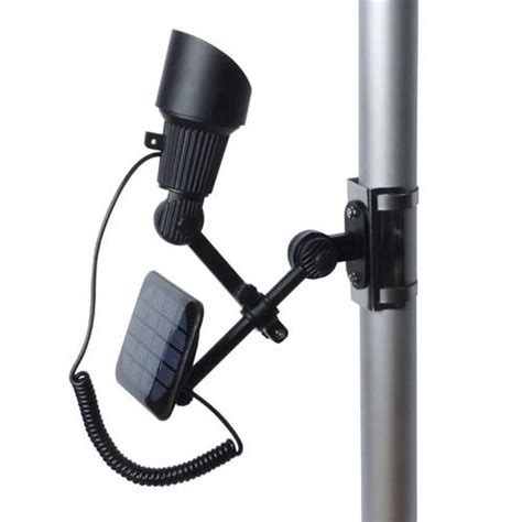 solar light for flag pole solar powered flag pole lighting envirogadget