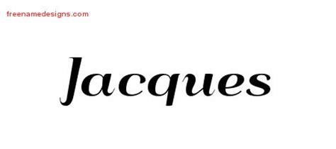 jacques tattoo font jacques archives free name designs