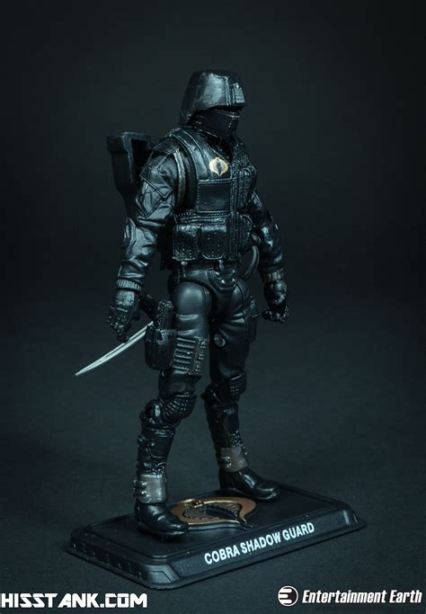 Shadow Guard g i joe 50th anniversary cobra shadow guard photo shoot