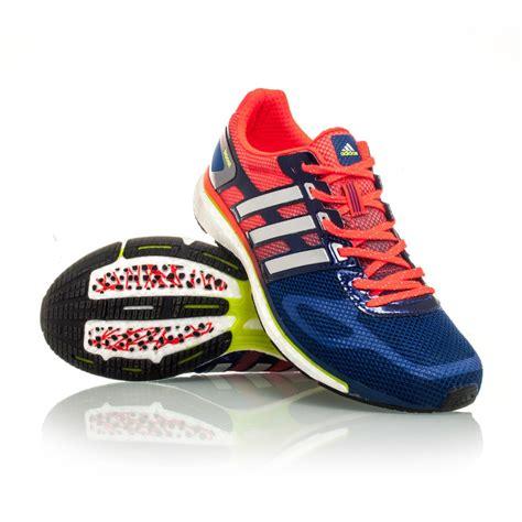Adidas Run 2 adidas adizero adios boost mens running shoes orange blue sportitude