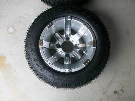 2014 10 inch octane golf cart wheels with low profile
