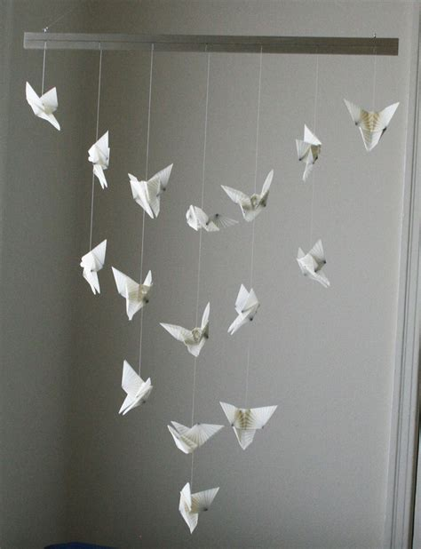 Hanging Origami - paper sculpture hanging search paper sculptures