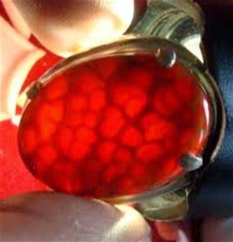 Sisik Naga Merah batu akik sisik naga motif alam