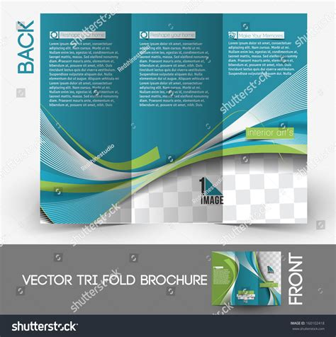 Couture Trifold Travel In Mock by Architecture Interior Designer Tri Fold Mock Up