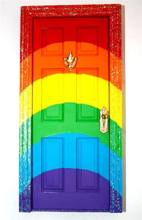 colorful doors smart bottom enterprises tooth fairy door