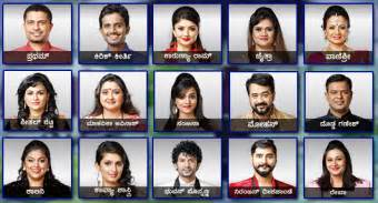 colors bigg colors kannada tv bigg kannada season 4 contestants