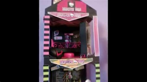 my monster high doll house tour my daughter s custom made monster high doll house youtube