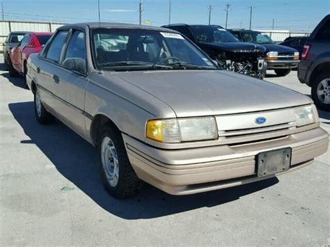 how to fix cars 1993 ford tempo lane departure warning auto auction ended on vin 2fapp36x2pb184405 1993 ford tempo gl in ft worth tx