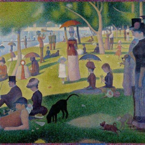 georges seurat most famous paintings a sunday on la grande jatte georges seurat fine art print