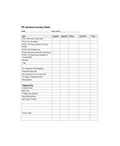 money count sheet template inventory count sheet template 7 free word pdf