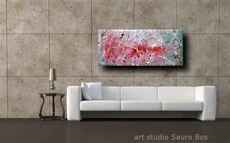 quadri moderni per soggiorno quadri astratti informali per soggiorno nero rosso bianco