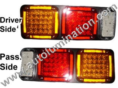 semi truck tail light assembly led replacement tail taillights auxiliary lights 5th wheel