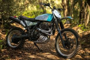 Suzuki R 600 Suzuki Dr600 Scrambler By Vintage Addiction Bikebound