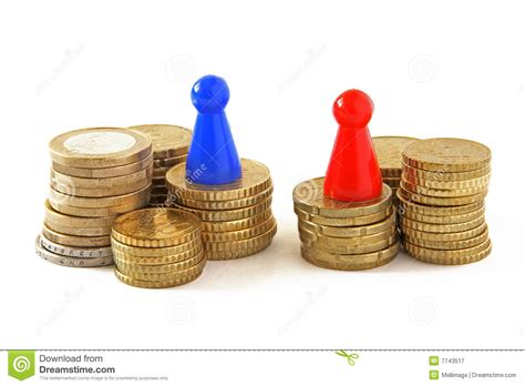 unequal wages unequal pay royalty free stock photography image 7743517