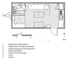 Tiny Homes On Wheels Floor Plans Builds Modern 210 Sq Ft Tiny Home Minim Home